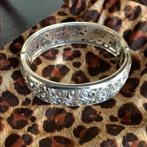 Brighton silvertone bangle bracelet